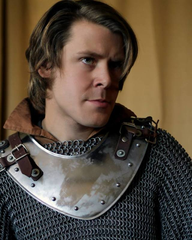 Cody Dermon as Soren the Paladin.  Photo by Risa Scott.