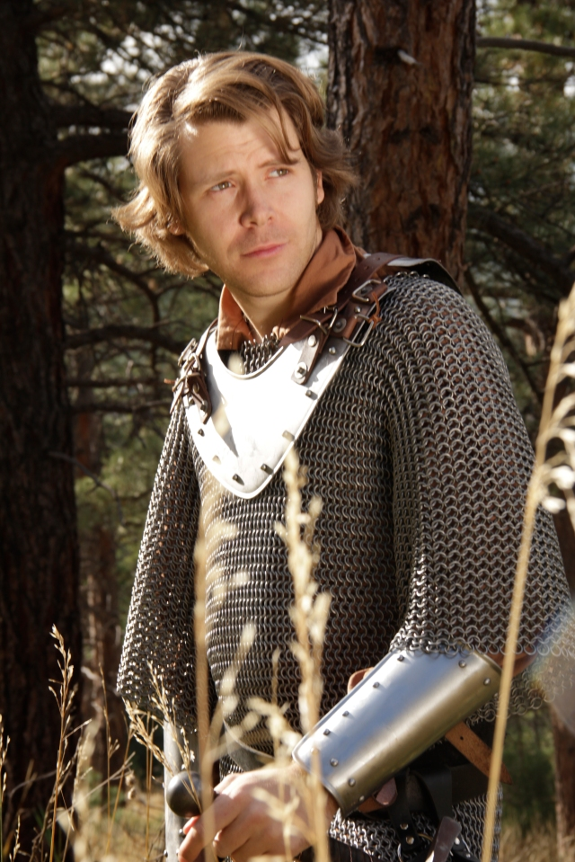 Cody Dermon plays the agnostic Paladin, Soren.